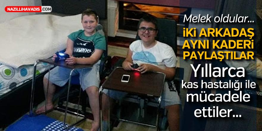 İKİ ARKADAŞ AYNI KADERİ PAYLAŞTILAR...