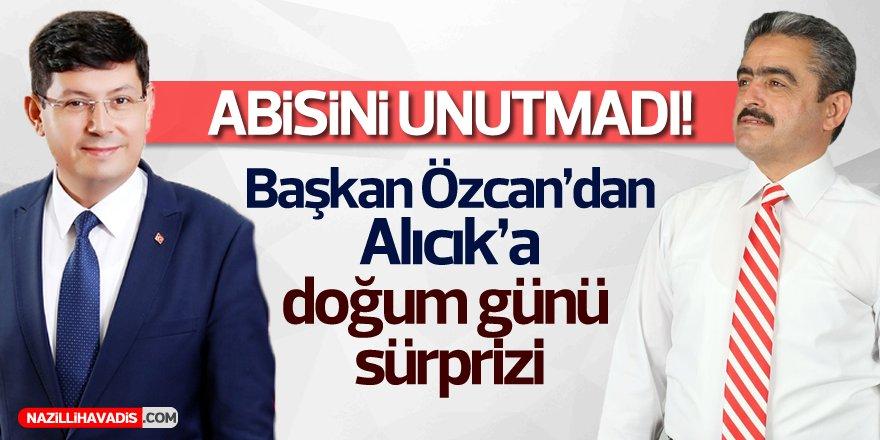 Başkan Özcan,Alıcık'ın Doğum Gününü Kutladı
