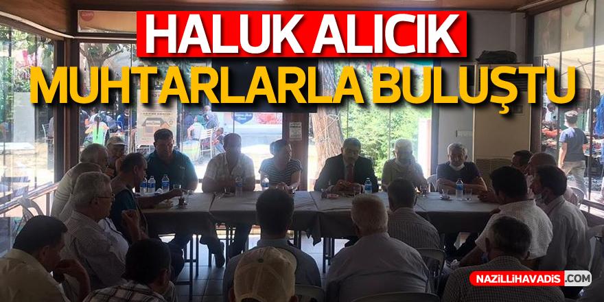 HALUK ALICIK KOÇARLI'YI ZİYARET ETTİ