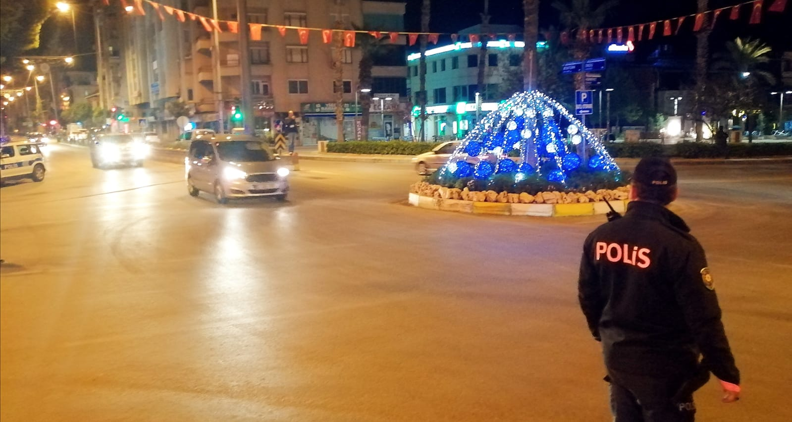 Nazilli'de asker uğurlama konvoyuna ceza kesildi