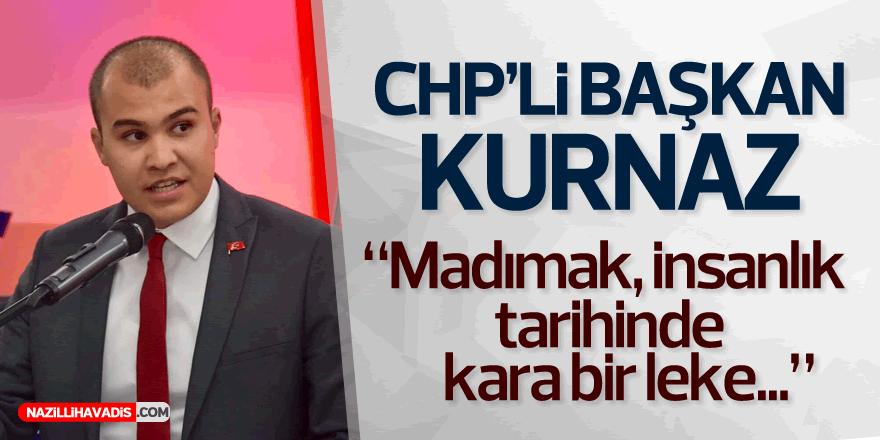 Başkan Kurnaz: Madımak insanlık tarihinde kara bir leke