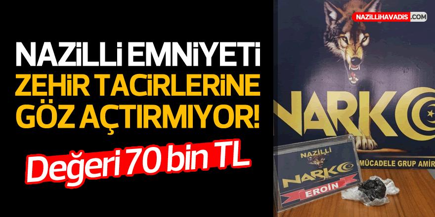 NAZİLLİ POLİSİNDEN BAŞARILI OPERASYON!