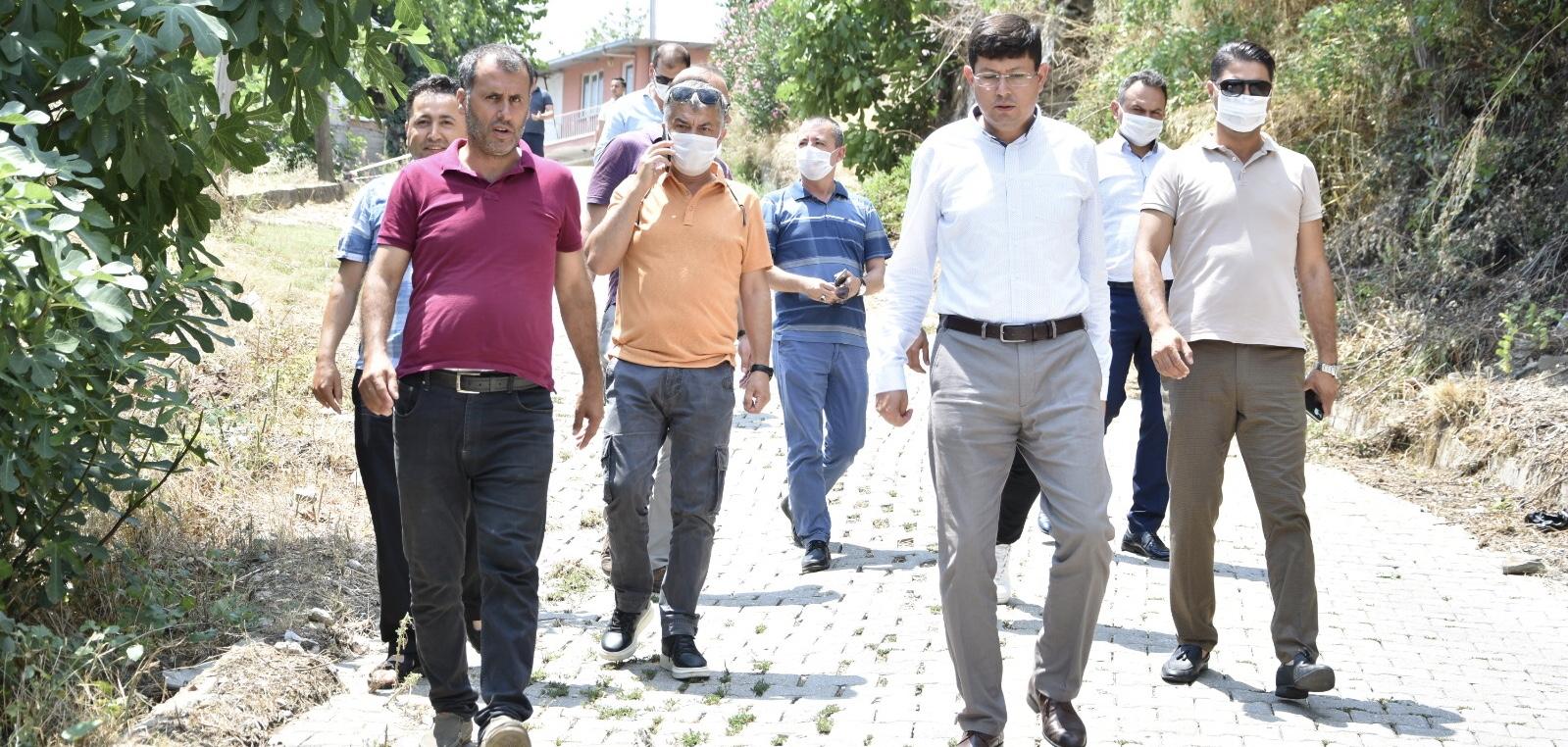 Aydın Büyükşehir ve Nazilli Belediyesi'nden Hasköy'de ortak çalışma