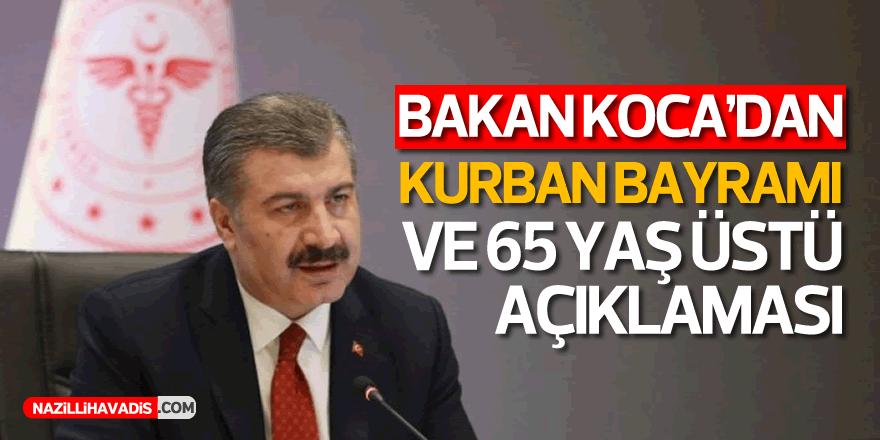 BAKAN KOCA AÇIKLADI!