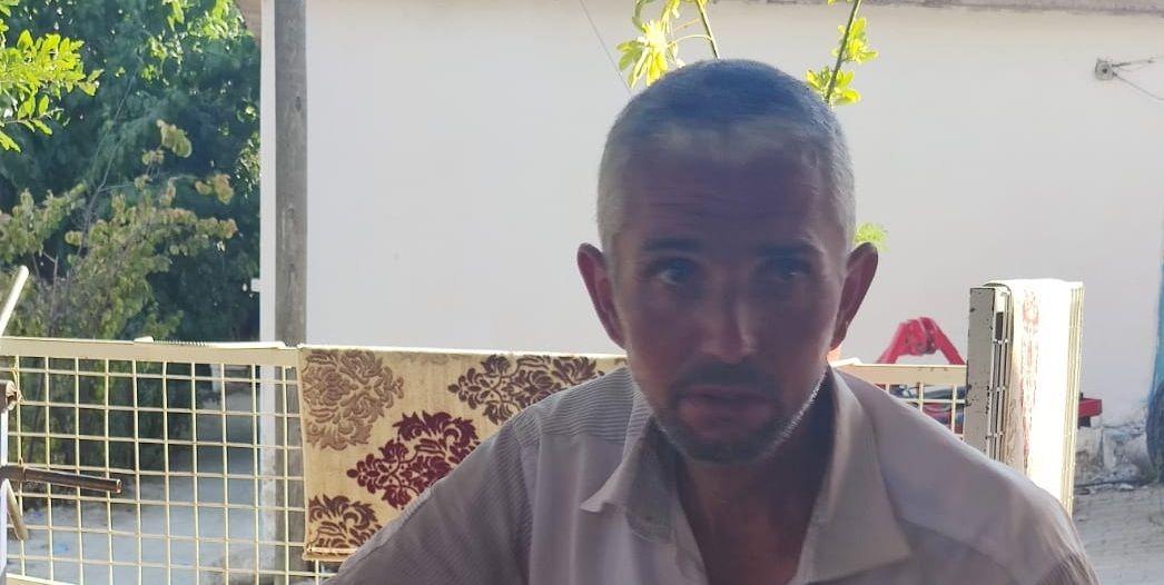 Denizli'den bisikletle Bozdoğan'a geldi, Jandarma ailesine teslim etti