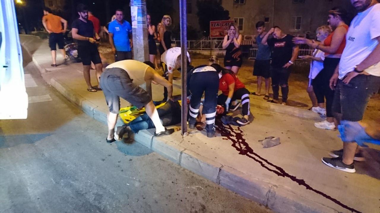 Aydın'da kaza! 1 kişi ağır yaralandı