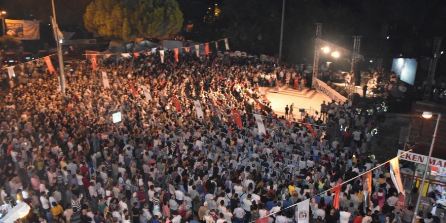 Karacasu'da kültür festivali koronaya takıldı
