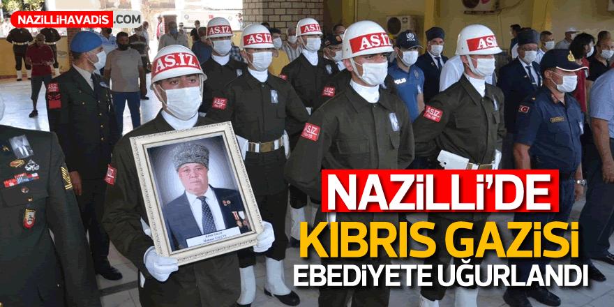 Nazilli'de Kıbrıs Gazisi, ebediyete uğurlandı