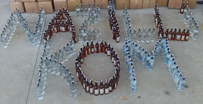 Nazilli'de son yılların en büyük sahte içki operasyonu
