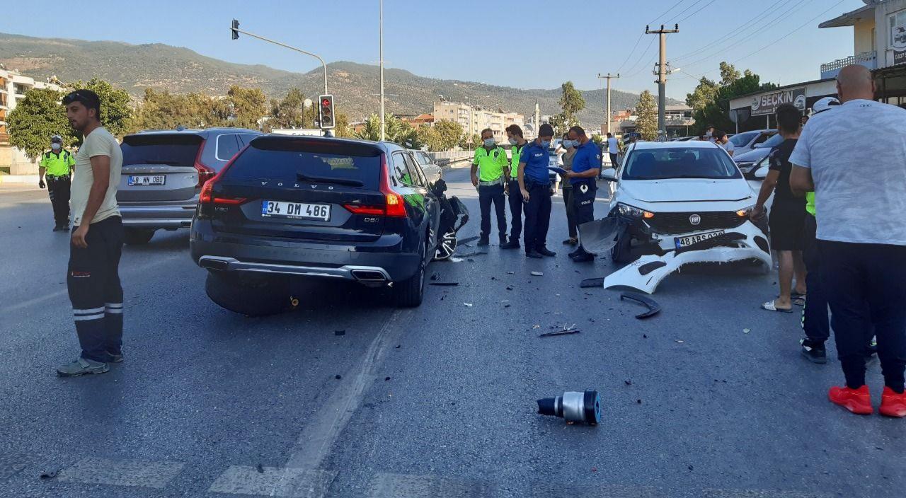 Aydın'da zincirleme trafik kazası
