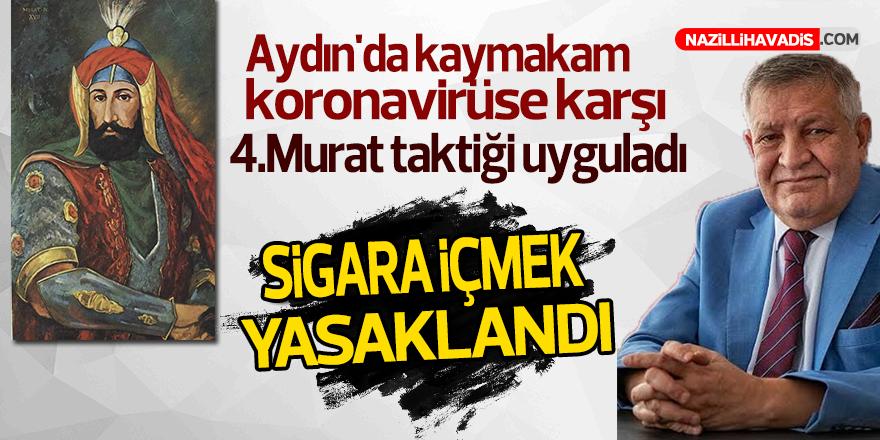 Aydın'da o ilçede sigara içme yasağı getirildi