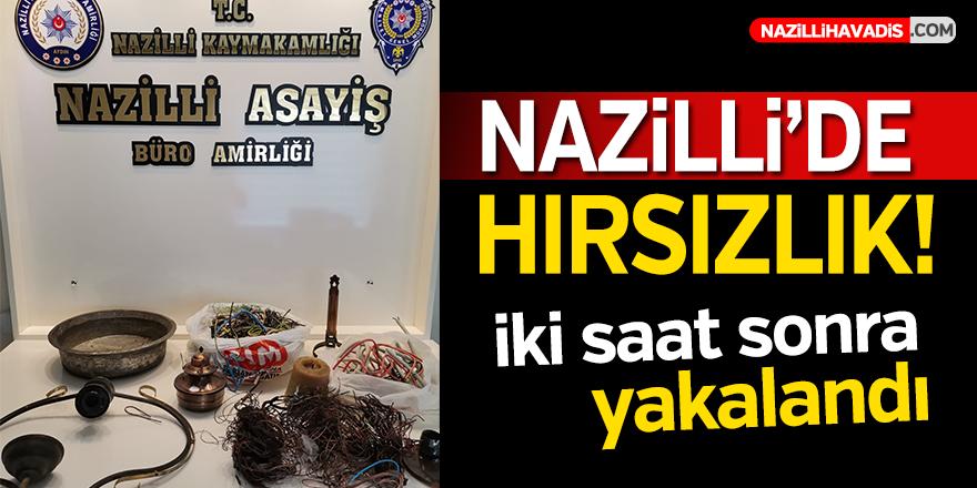 Nazilli'de Hırsızlık!