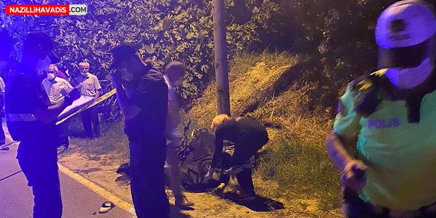 Buharkent'te 24 yaşındaki genç motosiklet kazasında öldü