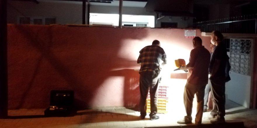 Nazilli'de incir hırsızlığı