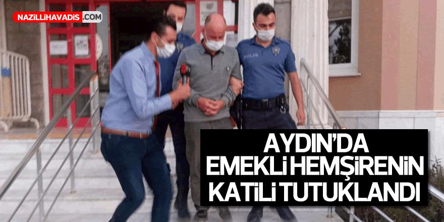 Emekli hemşirenin katil zanlısı tutuklandı
