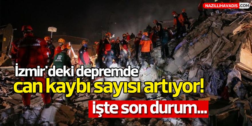 İzmir'deki depremde can kaybı sayısı artıyor!