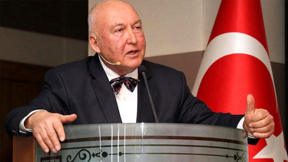 """Prof. Dr. Ahmet Ercan: """"Depremde yoksullar ölür, zenginler ölmez."""""""