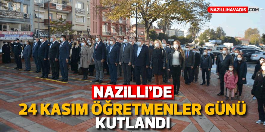 Nazilli'de Öğretmenler Günü kutlandı