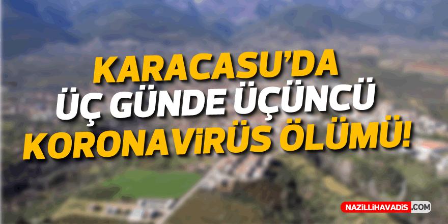 Karacasu'da 3 günde 3. koronavirüs ölümü