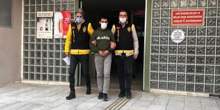Aydın'da kuryenin motorunu çalan kişi tutuklandı