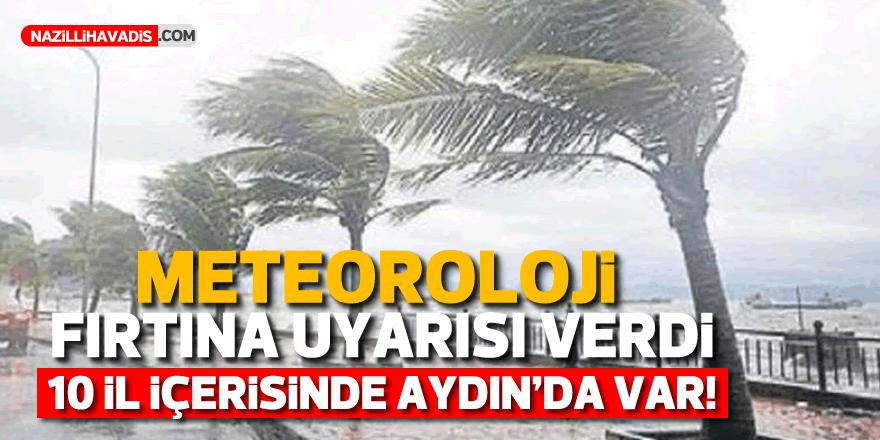 Aydın'a meteoroloji uyarısı!
