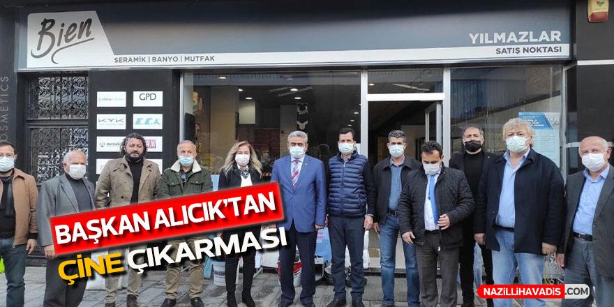 MHP İl Başkanı Alıcık'tan Çine çıkarması