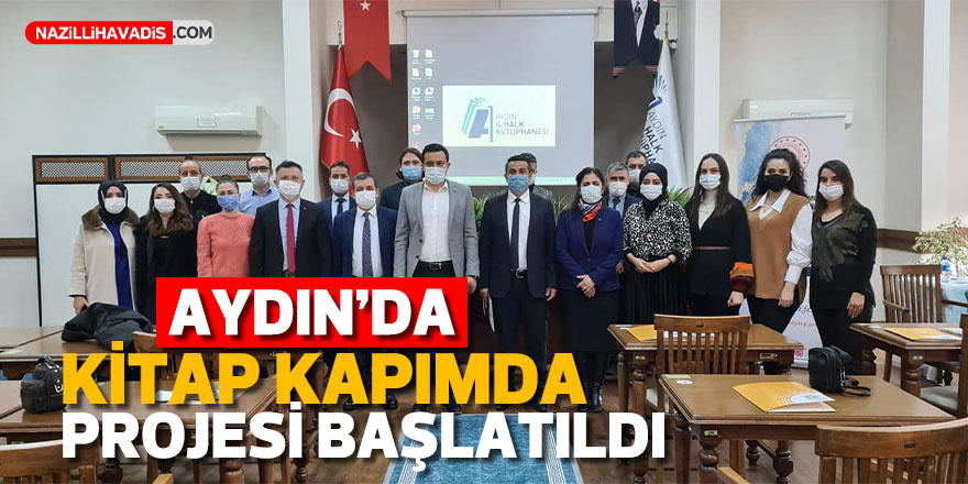"""Aydın'da """"Kitap Kapımda"""" projesi başlatıldı"""