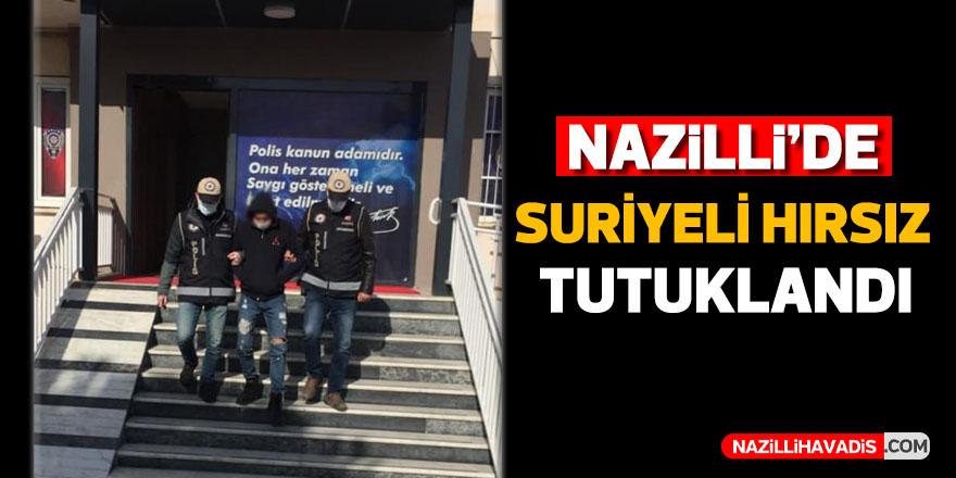 Nazilli'de Suriyeli hırsız tutuklandı