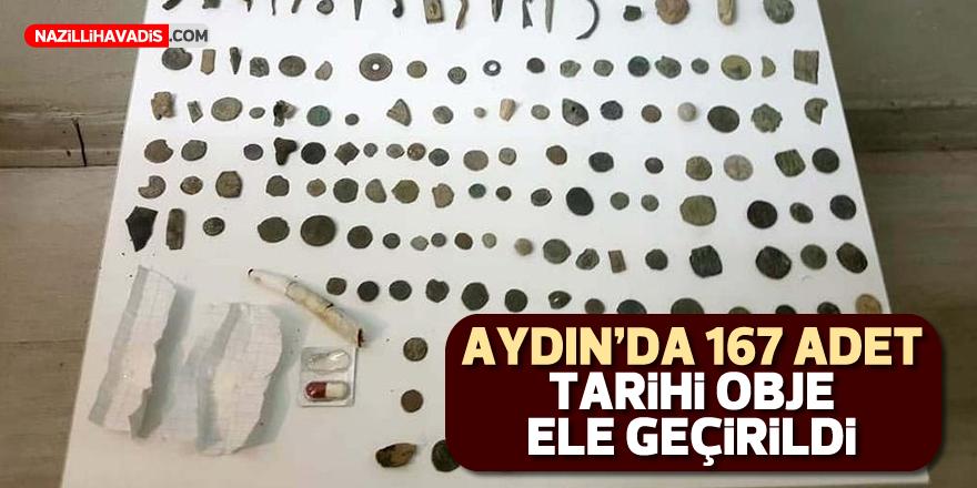 Aydın'da 167 adet tarihi obje ele geçirildi