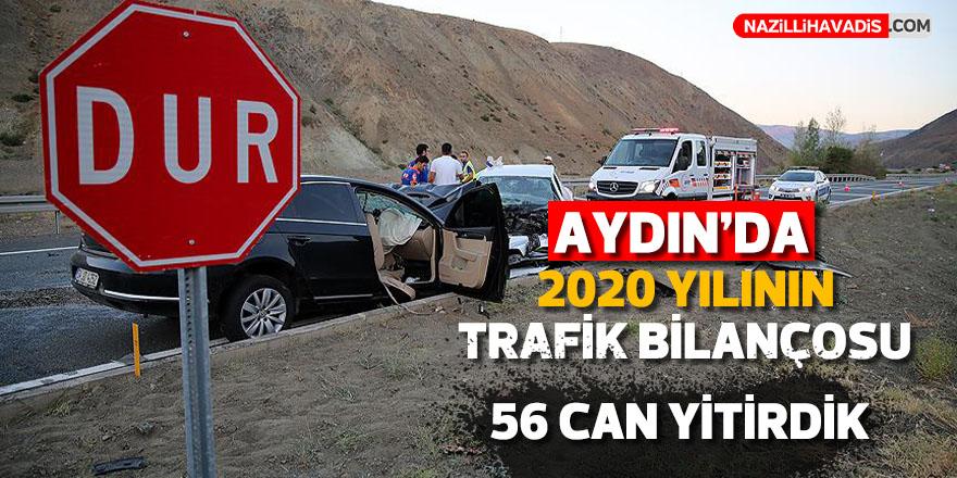 Aydın'da  trafik kazalarında 2020'nin acı bilançosu açıklandı