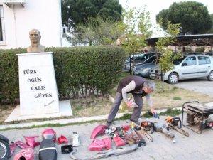 Nazilli'de Motosiklet Hırsızlarına Büyük Darbe