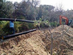Bozdoğan'ın Koyuncular Mahallesi'nde kanalizasyon yenileniyor