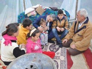 Nazilli'de evsiz kalan Acar Ailesi'ne ev bulundu