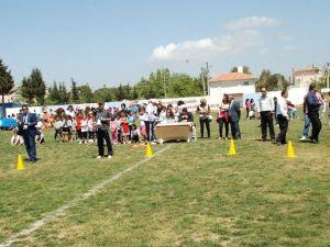 Didim'de Öğrenci Yarışmaları Renkli Görüntülere Sahne Oldu