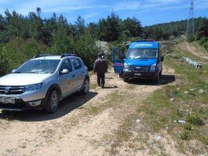 Arı Hırsızları Jandarma Engeline Takıldı