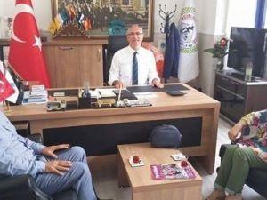 Şehit Aileleri Başkanı Esin'den Başkan Kale'ye Anlamlı Ziyaret