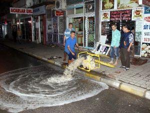 ASKİ, Nazilli'de Sel Mağdurlarının İmdadına Yetişti