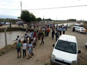 Serinlemek İçin Girdiği Sulama Kanalında Kayboldu