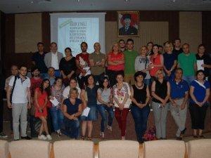 Aydın'da Oy ve Ötesi Gönüllüleri Eğitimde Buluştu