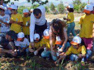Aydın'da Lider Çocuk Tarım Kampı Yapıldı