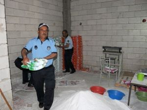 Gaziantep'te Kaçak Deterjan Ele Geçirildi