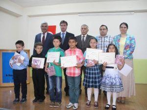 Ekmek İsrafını Önleme Kampanyasına Destek Veren Yozgat Müzeyyen Çokdeğerli İlkokulu Öğrencileri Ödüllendirildi