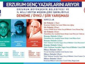 Erzurum Genç Yazarlarını Buldu