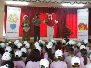 Bilge Tavşan Ve Ormancı Tiyatro Gösterisi Gölyaka'da