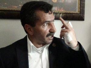 Kars'ta AK Parti'li Belediye Başkanına Saldırı