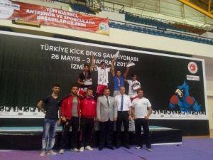 Aydın'dan Kick Boksta Tarihi Başarı