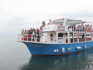 Çorum'dan Geldiler, Sinop'ta Denizle Tanıştılar