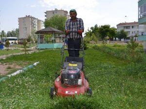 Bünyan Belediyesi Bütün Park Ve Mezarlıkları Temizledi
