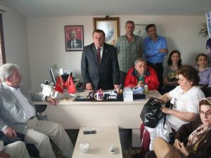 Pekşen'den Chp İlçe Teşkilatlarına Teşekkür Ziyareti