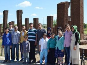 Muş'tan Gezilere Bin 600 Genç Katıldı